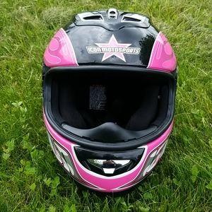 Icon Motorsports Motorcycle helmet